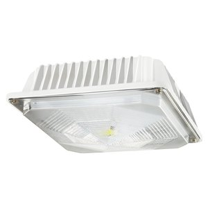 Cree Lighting C-CP-A-SQ-49L-40K-WH LED Canopy, 120-277V, 4900L, 4000K, White