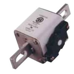 Eaton/Bussmann Series 170M5765 Fuse, 900A, Square Body, Blade, Size 2, with Indicator, 690/700V