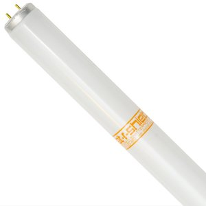 Shat-R-Shield 30190S Fluorescent Lamp, Shatterproof, Blacklight, T12, 40W