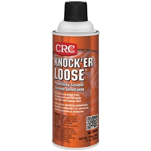 CRC 03020 Knock'er Loose Solvent Spray - 13oz Aerosol Can