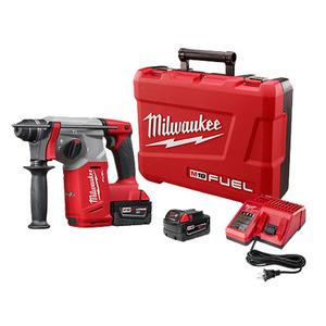"Milwaukee 2712-22 M18 FUEL™ 1"" SDS Plus Rotary Hammer"