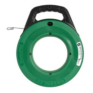 Greenlee FTS438-240 Fish Tape with Winder Case, 240'