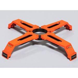 Bolt Star 024-00403 24 Inch Anchor Bolt Template, Orange