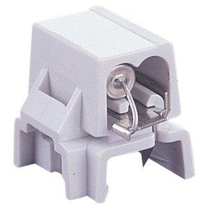 Ambiance Lighting 9488-15 Fused Plug, White