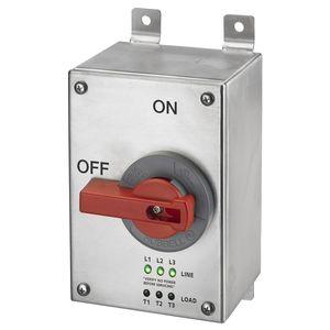 Hubbell-Wiring Kellems HBLDS3SSP DISCONNECT UN-F 30A 4X SS LED LIGHTS