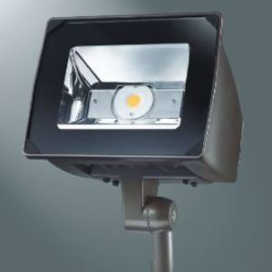 Lumark NFFLD-S-C70-T-UNV LED Floodlight, Small, 2700 Lumens, 120/277V, Trunnion Mount, Bronze
