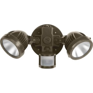 Progress Lighting P6341-2030K Two-Light Security/Flood Light With Motion Sensor