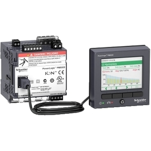 Square D METSEPM8244 Power Meter, PM8000, with Remote Display, Panel Mount