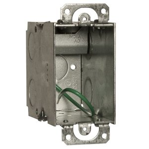 Hubbell-Raco 618S Single Gang STAB-IT® Switch Box