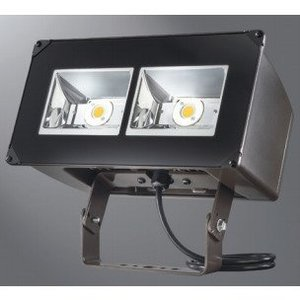 Lumark NFFLD-C25-T LED Floodlight, 10,500 Lumens, 120/277V, Trunnion Mount, Bronze