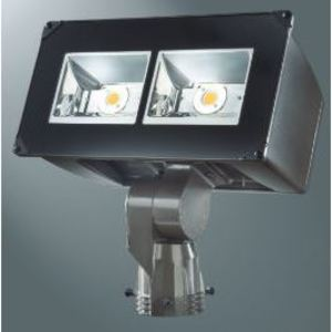Lumark NFFLD-C40-S LED Floodlight, 16,932 Lumens, 120/277V, Slipfitter Mount, Bronze