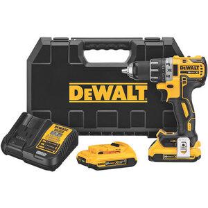DEWALT DCD791D2 20V Cordless Drill Driver Kit