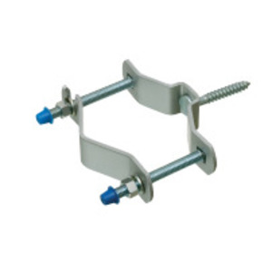 """Arlington 620 Pipe Support with 2-1/4"""" Lag Bolt, Mast Size: 1-1/4 to 3"""", Steel"""