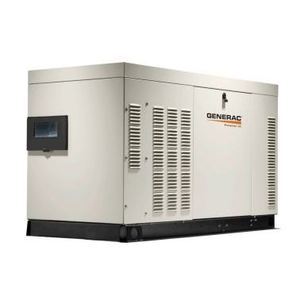 Generac RG02224ANAX Generator, Standby, Protector QS Series, 22kW, 120/240VAC, 100A