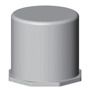 "Bizline 350CAP PVC End Cap, 3-1/2"""