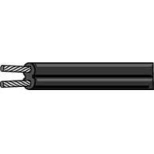 Multiple LVDB1221000RL 12/2 Low Voltage Cable, Black, 1000'