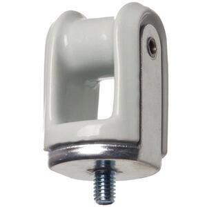 Arlington 617 Wireholder, Reinforced, Screw Type, Porcelain