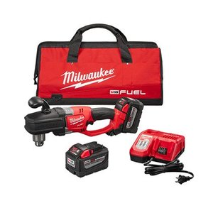 "Milwaukee 2707-22HD M18 FUEL™ HOLE HAWG® 1/2"" Right Angle Drill High Demand™ Kit"