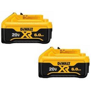 DEWALT DCB206-2 20V MAX* Premium XR Lithium Ion 2-Pack