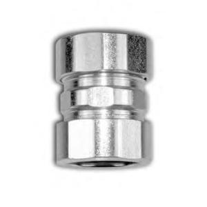American Fittings Corp EC760US EMT Compression Coupling, 1/2 inch, Steel, Concrete Tight