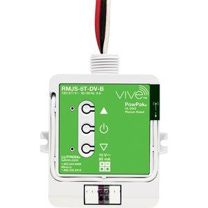 Lutron RMJS-8T-DV-B Vive PowPak 120/277V, 8A, Dimming Module