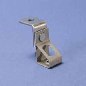 "Erico Caddy 6TIB Rod Hanger Angle Bracket, Rod Size: 3/8"", Steel"