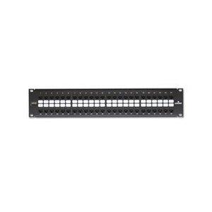 Leviton 69270-U48 Ppanel 48-pt Cat6 +bar
