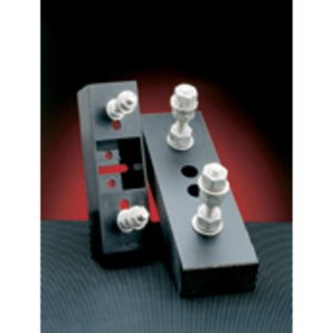 Mersen P266A Fuse Block, Semi-Conductor, Bolt On, 125 - 600A, 1000VAC, Studs