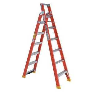 Werner Ladder DP6207 Dual Purpose Ladder, Fiberglass