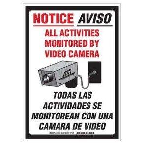Brady 103848 Security Sign