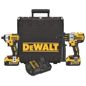 DEWALT DCK296P2 Premium Hammerdrill/Impact Driver Kit