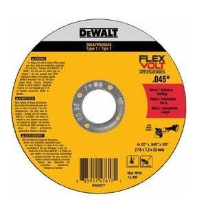 """DEWALT DWAFV845045 4-1/2"""" Cutting Wheel"""