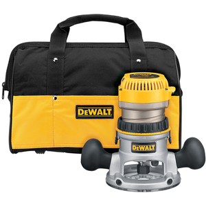 DEWALT DW618K Heavy-duty 2-1/4 HP Fixed Base Router