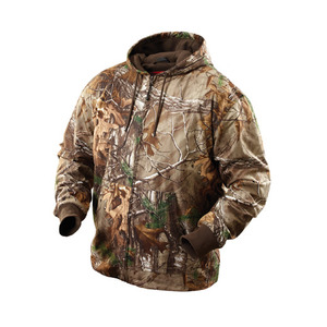 Milwaukee 2382-M M12 Camouflage Heated Hoodie M
