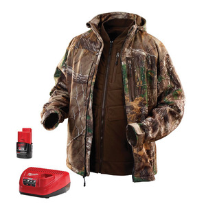 Milwaukee 2387-L M12 Camouflage 3-in-1 Heated Jacket Kit L