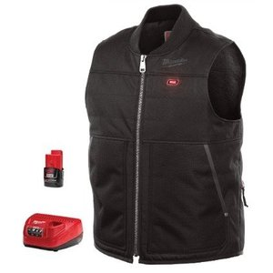Milwaukee 271B-21S M12 Black Heated Vest Kit S