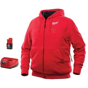 Milwaukee 301R-21L M12 Red Heated Hoodie Kit L