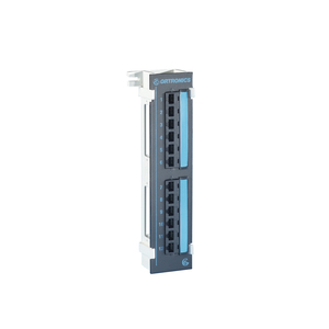 Ortronics PMP5E1289 12 Port Clarity Universal Wall Bracket, Cat 5e
