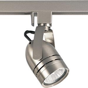 Progress Lighting P6112-09 Track Head, MR16, 1 Lamp, 50W, Brushed Nickel