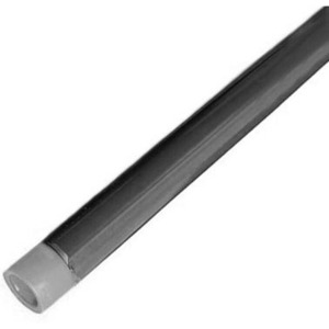 """Calbond PA0710CT00 PVC Coated Aluminum Conduit, 3/4"""", 10' Length"""