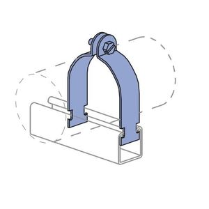 Unistrut P2027-EG O.d. Tubing Clamp