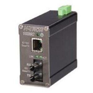N-TRON 102MC-ST Communications Adapter, Media Converter, ST Fiber, 100BaseFX