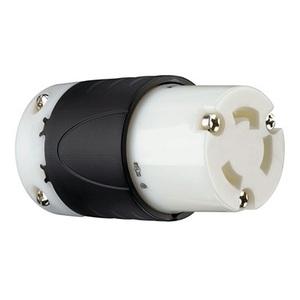 Pass & Seymour L630-C Locking Connector, 30A, 250V, L6-30R, 2P3W