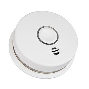 Kidde Fire 21027308 Photoelectric Smoke Alarm, Battery Powered, White