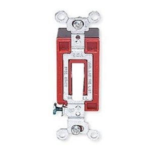 Hubbell-Kellems 1223W Three-Way Switch, 20A, 120/277VAC, White