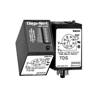 SSAC TDS120AL 120V, DIGI-SET(SS) 1s-102.3s, 1 Form C
