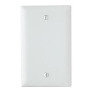 ON-Q TP13-W Blank, 1-Gang, Nylon, White, Standard