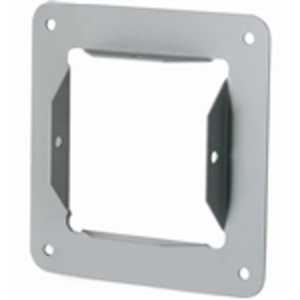 "Hoffman F1010GPA Wireway Panel Adapter, Type 1, Lay-In, 10"" x 10"", Steel, Gray"