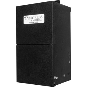 Progress Lighting P8655-31 Transformer, Remote, Hide-A-Lite, 600W, 12VDC, 120VAC, Black