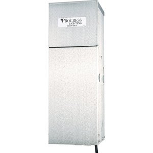 Progress Lighting P8519-01 Transformer, Landscape Lighting, 300W, 120VAC, 12VDC, Plug In